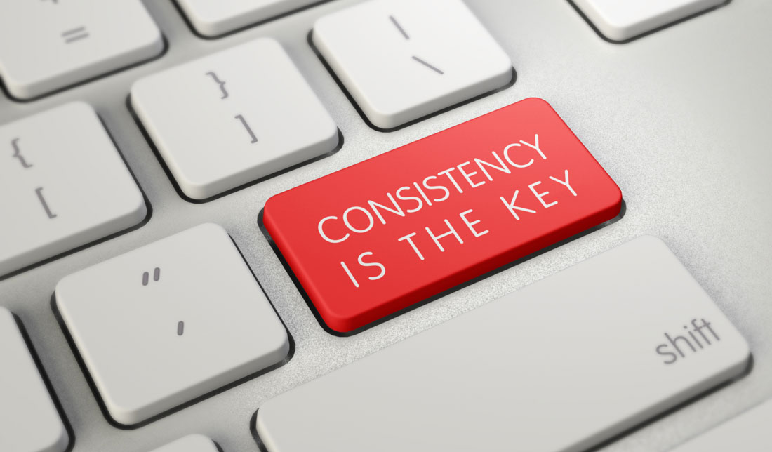 Consistentcy is key in Calgary marketing and branding solutions